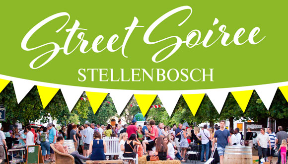 Toast with the locals, when the ever-popular, Stellenbosch Street Soirees return...
