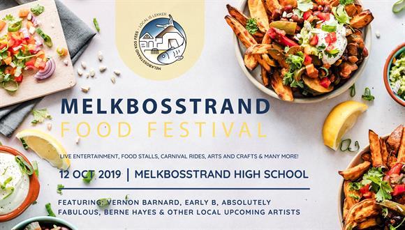 Saturday 12 October 2019 we will be hosting the first Melkbosstrand Food Festiva...