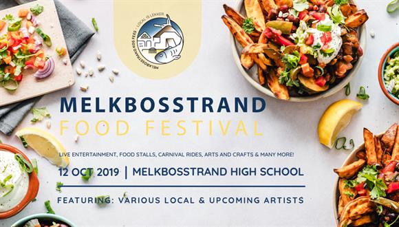 Saturday 12 October 2019 we will be hosting the 1st Melkbosstrand Food Festival....