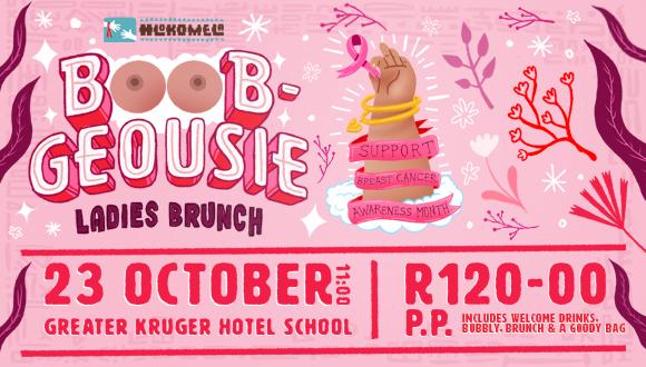 Boob-geousie Ladies BrunchJoin Us For Hlokomela's Ladies Brunch in Support of B...