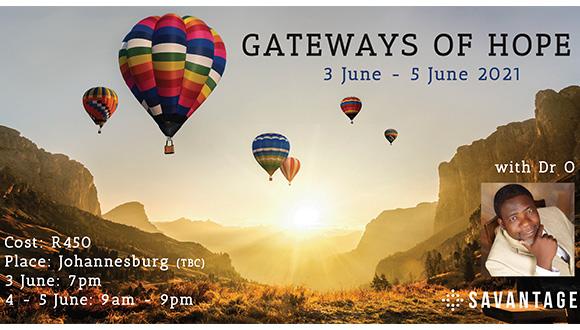 R450 per person.03 June 7pm & 04-05 June 9am-9pm