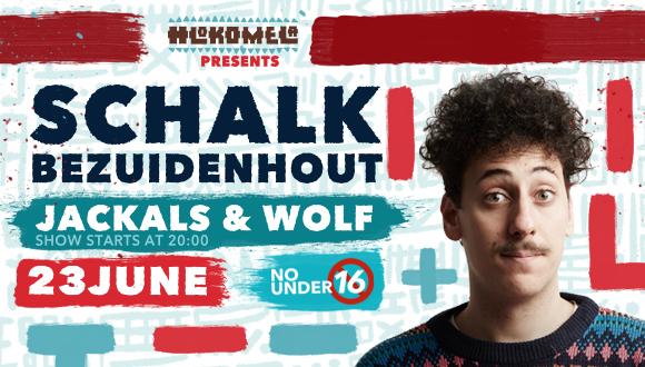 Hlokomela is proud to present comedian Schalk Bezuidenhout live in Hoedspruit.Be...