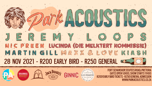 Park Acoustics Friends & Family, we are ending off 2021 with a BANG!!!Join us fo...