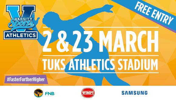 Varsity AthleticsVarsity Athletics will be hosted by the University of Pretoria,...
