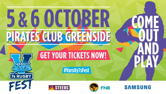 Joburg, get ready! Varsity Sports brings you the 2018 edition of Varsity 7s, liv...