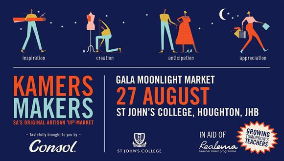 KAMERS/Makers returns to St John's College for a much-requested second Joburg 'u...