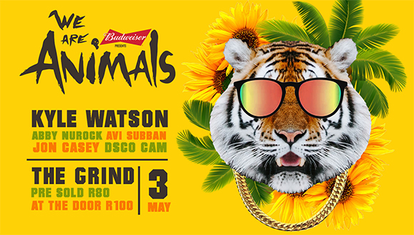 Budweiser presents We Are Animals  with a new venue and ready to go bigger than ...