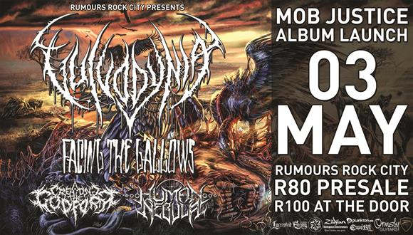 The South African brutal death metal bulldozer Vulvodynia are one of the most ac...