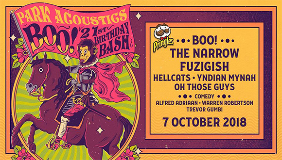 Park Acoustics and Pringles proudly presents Boo!'s 21st birthday bash with The ...