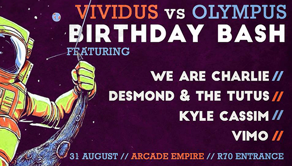 Vividus Ladies vs Olympus' big Birthday Bash!✔︎ Doors open at 7pm | R70 entrance...