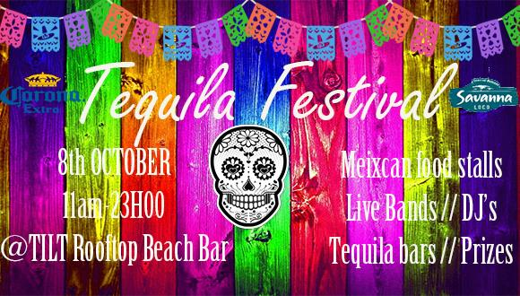 Learn to drink 50 different tequilas in 50 different waysLive bands from 11am-6p...