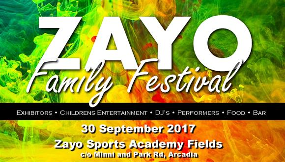 Come join in the fun at the ZAYO FAMILY FESTIVAL on 30 September. A day packed w...