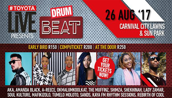 The 2017 edition of the Drum Beat concert returns to Ekurhuleni with a bigger an...