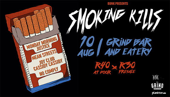 We bring you more than just the horizon, we bring you Smoking Kills!The purest p...